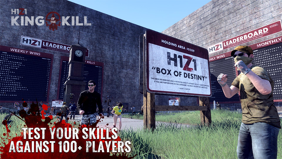 Daybreak paraliza el desarrollo de H1Z1: King of the Kill para PS4 y Xbox One