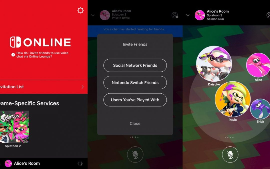 La app de Nintendo Switch ya está disponible para iOS y Android
