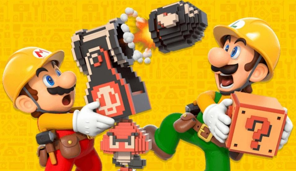 El gran debut mundial de Super Mario Maker 2