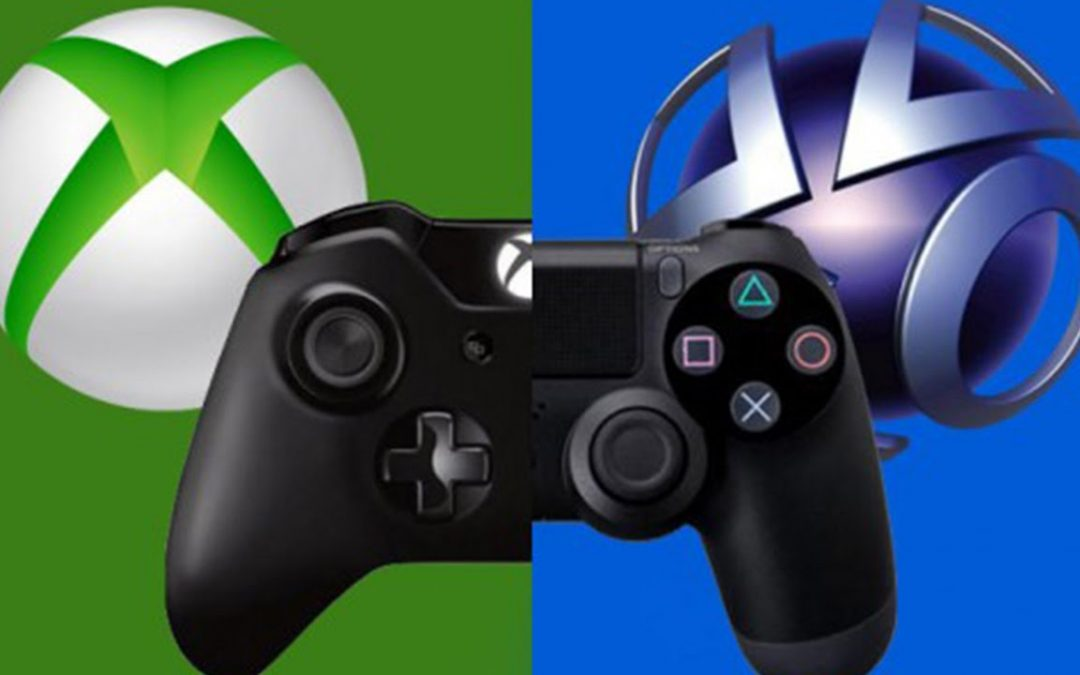 Comparativa de ventas: Xbox  360 y PlayStation 3 frente a Xbox One y PlayStation 4